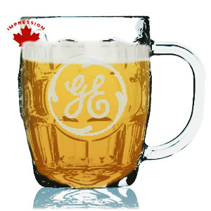 Etched Beer Mug 20 Oz, Printed Beer Stein 20 Oz