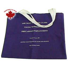 Canadian Made Convention Tote Bags