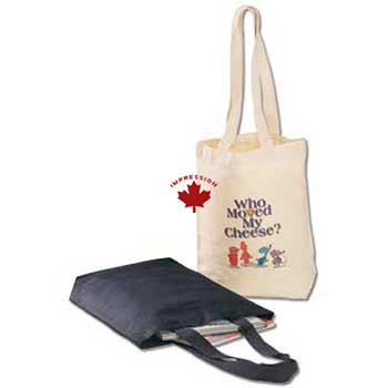 Custom Tote Bag Cotton Canvas Made In Canada