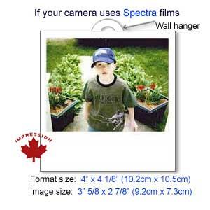 spectra instant film photo frame sleeve. Black Bedroom Furniture Sets. Home Design Ideas
