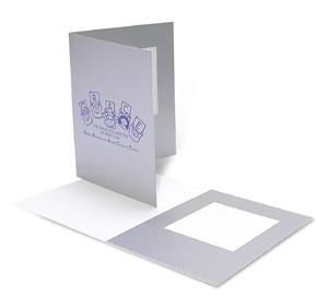 silver cardboard polaroid picture frame. Black Bedroom Furniture Sets. Home Design Ideas