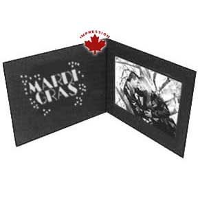 mardi gras cardboard photo frame. Black Bedroom Furniture Sets. Home Design Ideas