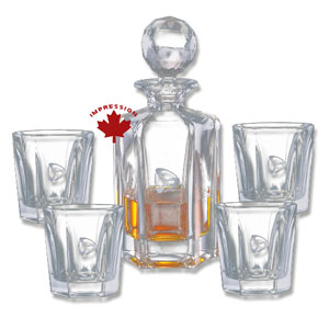Whiskey Decanter And Glass Sets Personalized