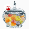 Crystal Candy Bowl With Lid