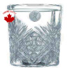 On The Rocks Beverage Glasses Etched
