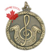 Music Medallions & Custom Award Medals In 3-d