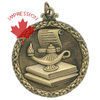 Scholastic Medallions & Award Medals In 3-d