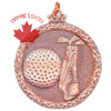 Golf Medallions And Golf Awards In 3-d