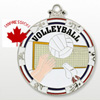 Volleyball Medallions And Award Medals