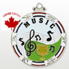 Music Medallions And Award Medals