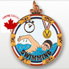 Swimming Medallions And Award Medals