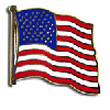American Flag Lapel Pins And Usa Flag Lapel Pin