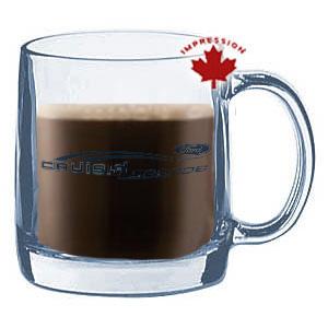 Glass Mug Printing Factory Canada Custom Printed Glass ...